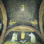 Mausoleo di Galla Placidia - particolare delle volte
